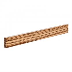Adlon3 Knivmagnet af Zebrano træ - 40 cm.