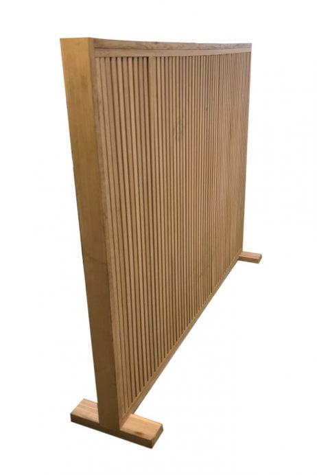 Akustisk Skillevæg 120 cm høj med fod