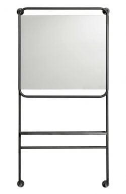 Copenhagen spejl med hylde