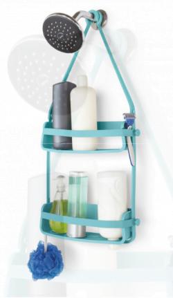 Fleksibel badehylde dobbelt blå fra Umbra