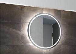 Katrine rundt spejl m. LED belysning - MANGE STØRRELSER