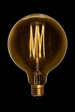 Mega Edison Gold 2,5W LED pære fra Danlamp