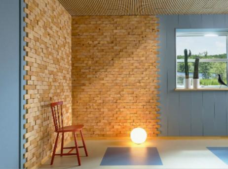 NORTO Skov 135 / Bæredygtig Vægpanel 0,9 m2