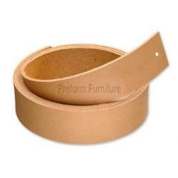 Preform Nature leather strap, set. 120cm