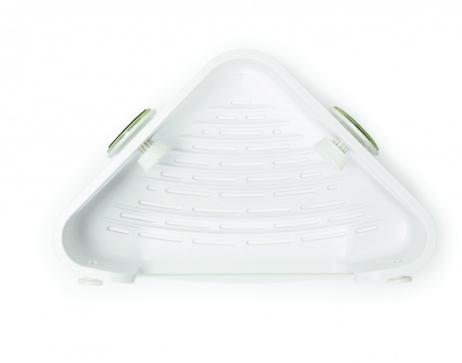 Umbra Flex-Gel lås badeværelse hjørnehylde hvid