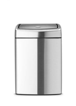 Brabantia Touch Bin Rektangulær 10 Liter Mat FPP Stål
