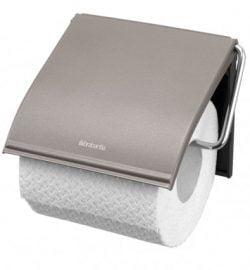 Brabantia Toiletrulleholder - Platinum
