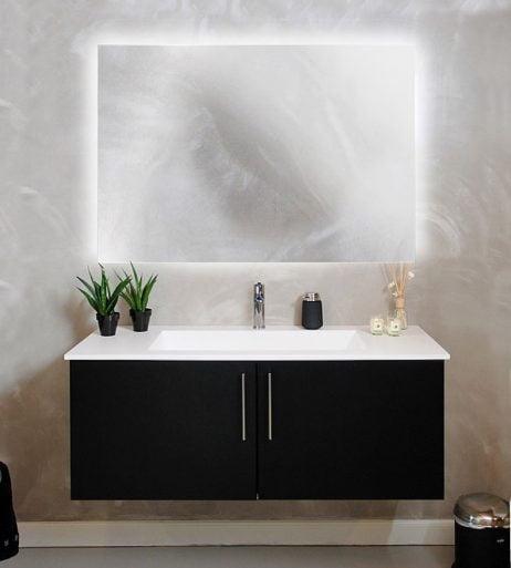 CUSTOM / SPECIALMÅL - Backlight spejl dansk produceret
