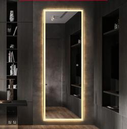 Premium Spejl til garderone, badeværelse eller entre  70x170