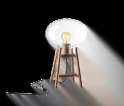 U4 - Hiti, Bordlampe i Opal FDB