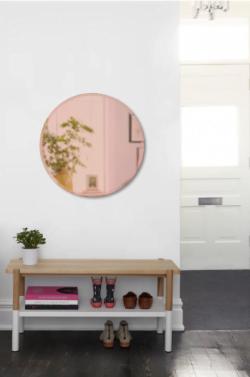 Kobber tonet spejl fra Umbra