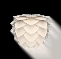 Aluvia mini pearl white Ø 40 x 30 cm