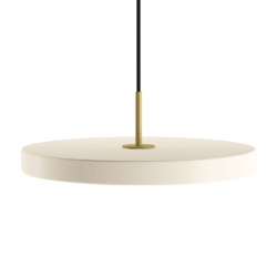 Asteria pearl white Ø 43 x 4 cm