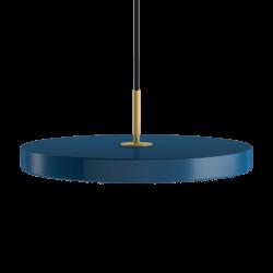 Asteria petrol blue Ø 43 x 4 cm