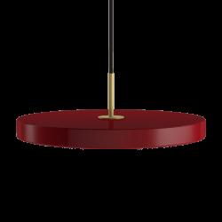 Asteria ruby red Ø 43x 4 cm