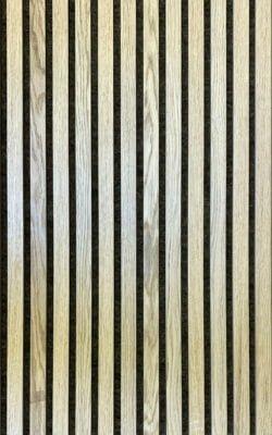 Akustikpanel m. Ege finer og grå filt