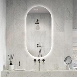 Premium spejl Vilma med LED lys - Flere størrelser