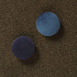Super stærk magnet Blå Velour (2 stk)