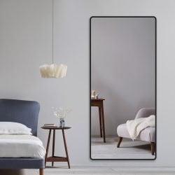 Premium spejl Mona  med  alu ramme - Flere farver