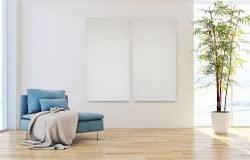 Dampa Akustik Panel i stål - Hvid