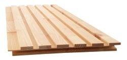 NORTO Bech / Bæredygtig loft- og vægbeklædning i ubehandlet træ