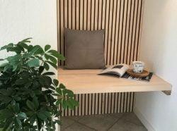 NORTO Bech / Prøvepakke med loft- og vægbeklædning i træ