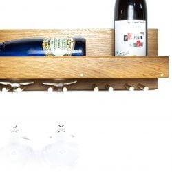 HACK Vinhylde med glasophæng fra Rune-Jakobsen Design - Eg