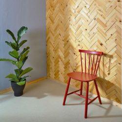 NORTO Leth / Bæredygtig vægdekoration i træ