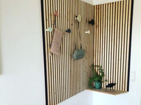NORTO Bech / Bæredygtig loft- og vægbeklædning i fuldmalet træ