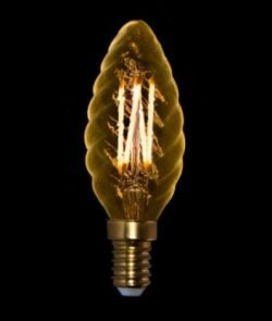 240V 2,5W E14 KRYSTALKERTE GOLD